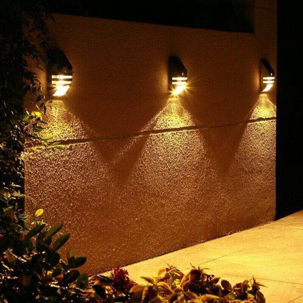 applique murale solaire pas cher jardin