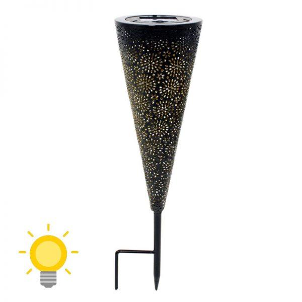 deco jardin lampe solaire exterieur
