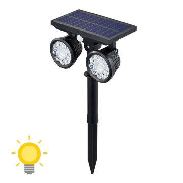 éclairage de jardin solaire efficace