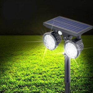 eclairage de jardin solaire efficace autonome