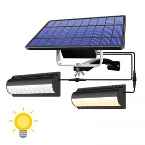 eclairage led solaire avec interrupteur