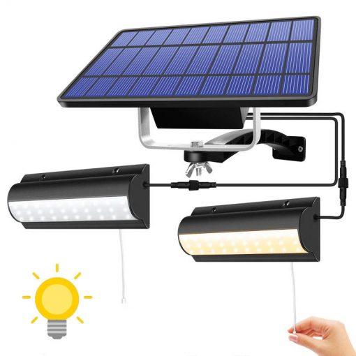 eclairage led solaire avec interrupteur pas cher