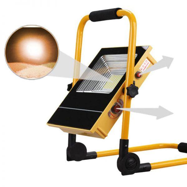 lampe de chantier solaire led