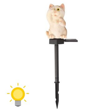lampe solaire chat