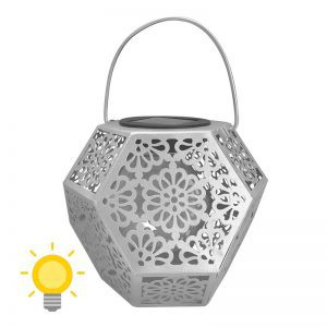lanterne terrasse solaire