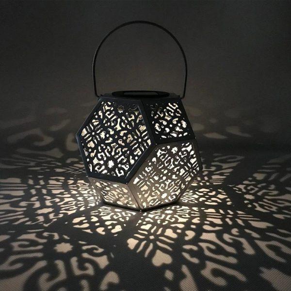 lanterne terrasse solaire a poser