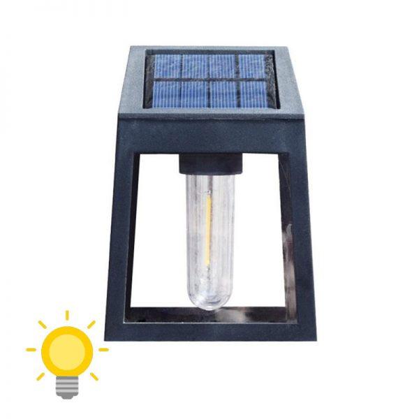 applique solaire exterieur retro