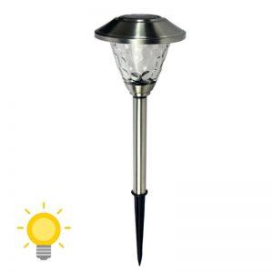 borne d éclairage solaire de jardin