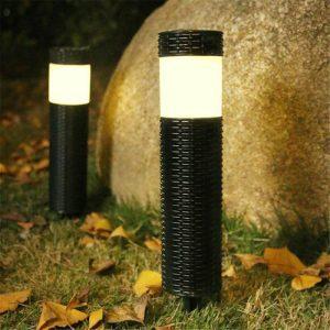 borne lumineuse solaire jardin pas chere