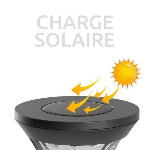 borne solaire de bonne qualite extérieur