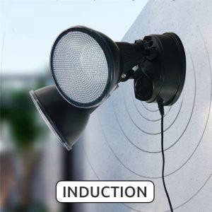 double projecteur led solaire puissant