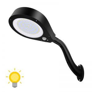 éclairage solaire avec detecteur de presence