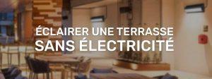 éclairer terrasse sans électricité