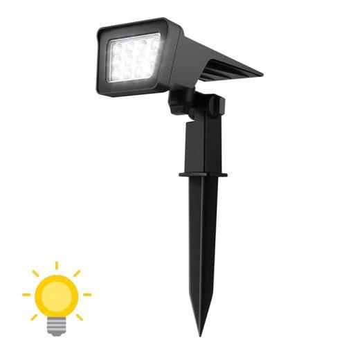 lampe solaire jardin led sans fil