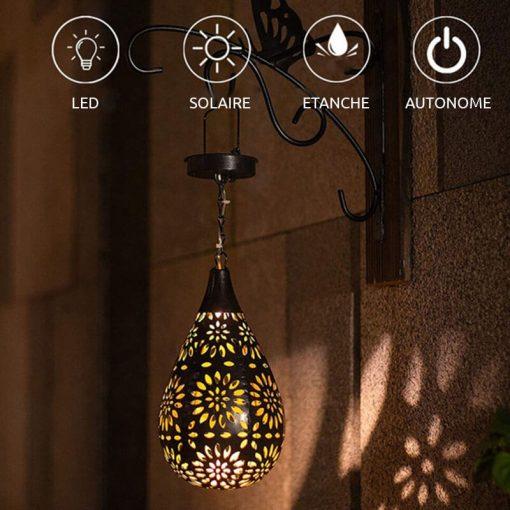 lanterne a energie solaire EXTERIEUR