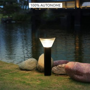 potelet solaire led