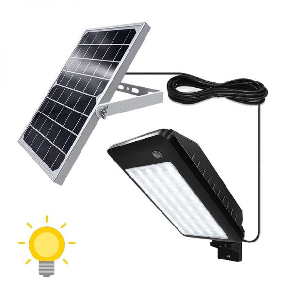projecteur solaire a led avec detecteur