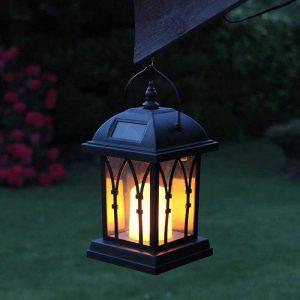 grosse lanterne solaire effet flamme