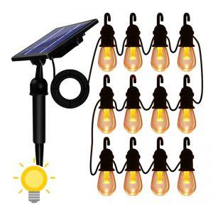 guirlande ampoules solaires
