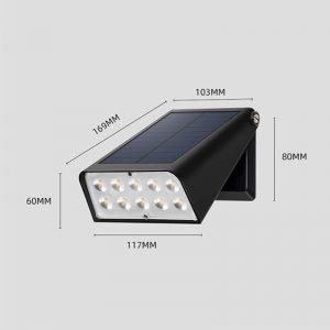 lampe led exterieur sans fil solaire puissante