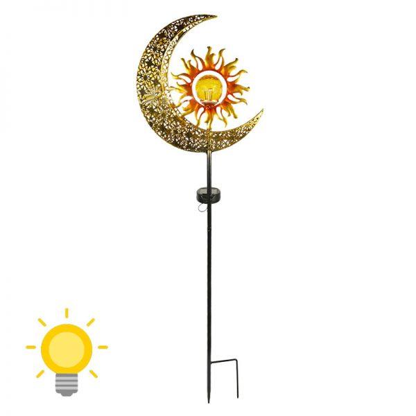 lampe solaire jardin design
