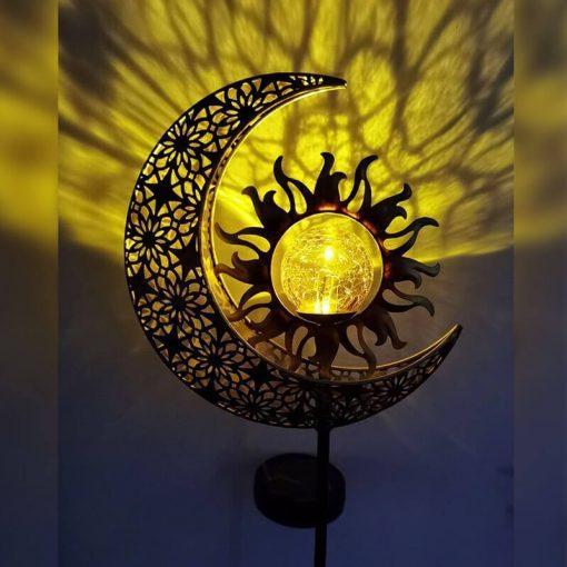 lampe solaire jardin design led