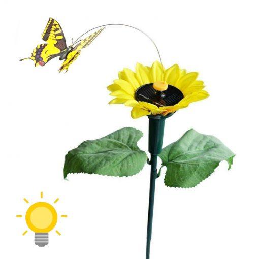 papillon solaire virevoltant