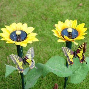papillon solaire virevoltant deco