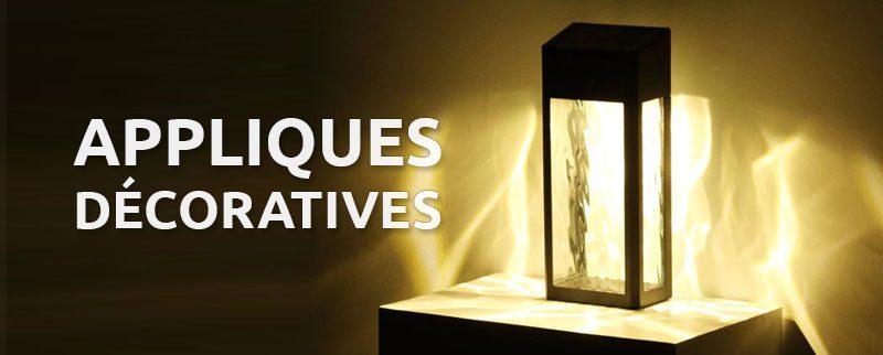 applique solaire decorative
