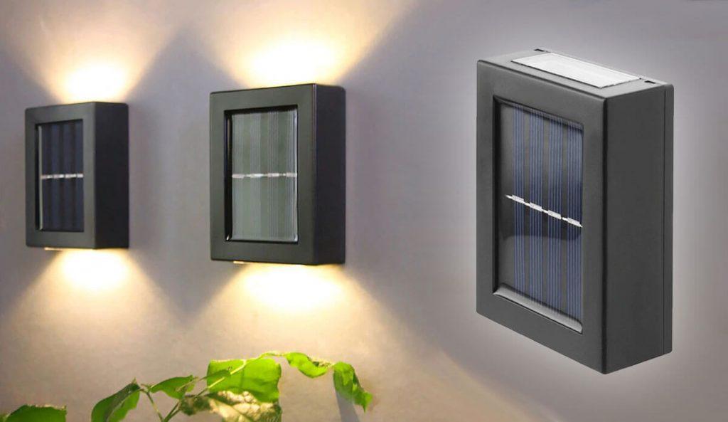 applique solaire exterieur deco
