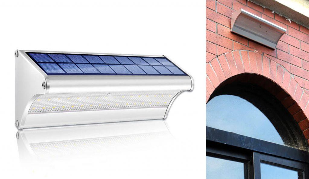 applique solaire exterieur led