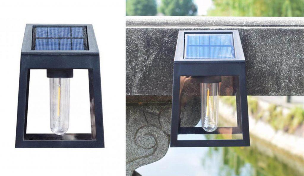 applique solaire exterieur vintage