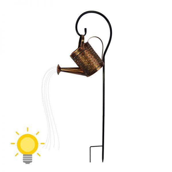 arrosoir lumineux solaire