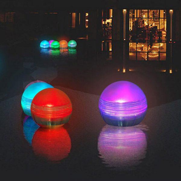 boule solaire piscine led