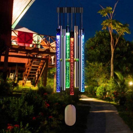 carillon solaire lumineux