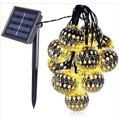 guirlande marocaine ernergie solaire