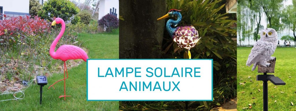 lampe solaire animal