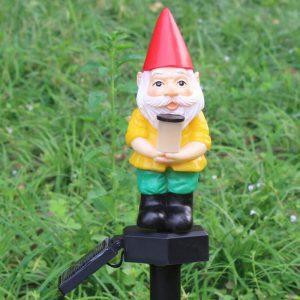 nain de jardin solaire jardin