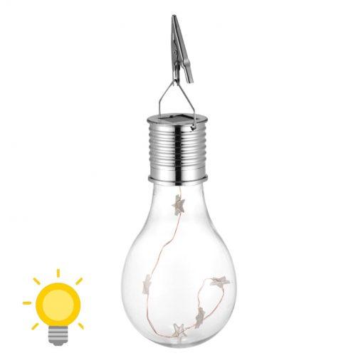 ampoule solaire decorative