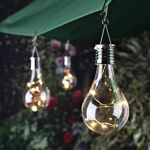 ampoule solaire decorative exterieur
