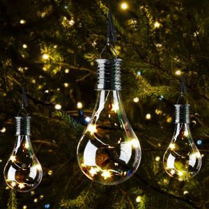 ampoule solaire decorative jardin