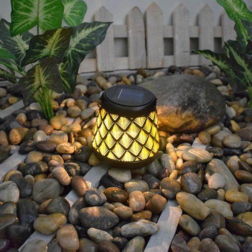 eclairage jardin solaire decoration dexterieur etanche