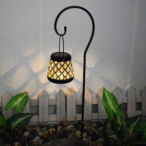 eclairage jardin solaire decoration dexterieur led