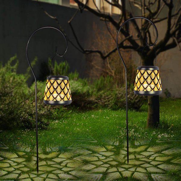 eclairage jardin solaire decoration dexterieur pas cher