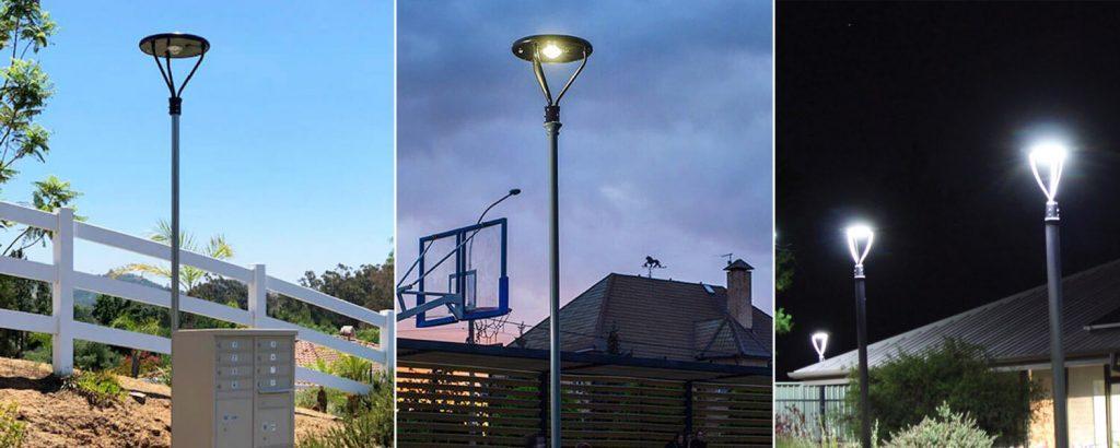 lampadaire solaire autonome led
