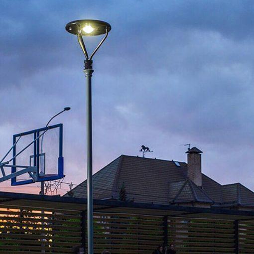 lampadaire solaire autonome puissant