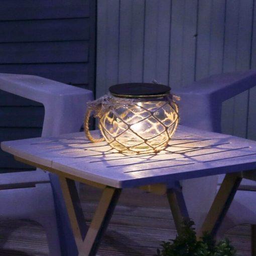 lampe solaire forme ampoule exterieur