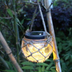 lampe solaire forme ampoule jardin
