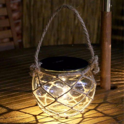 lampe solaire forme ampoule led