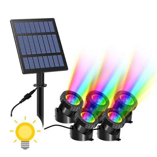 lampe solaire submersible